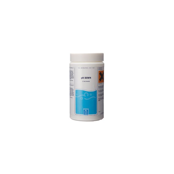 ph Down granulat 1,5 kg - ph Minus - Spacare