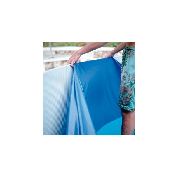 Linerdug Oval Pool Blå 40/100 H 1,32 Fås 3 Størrelser