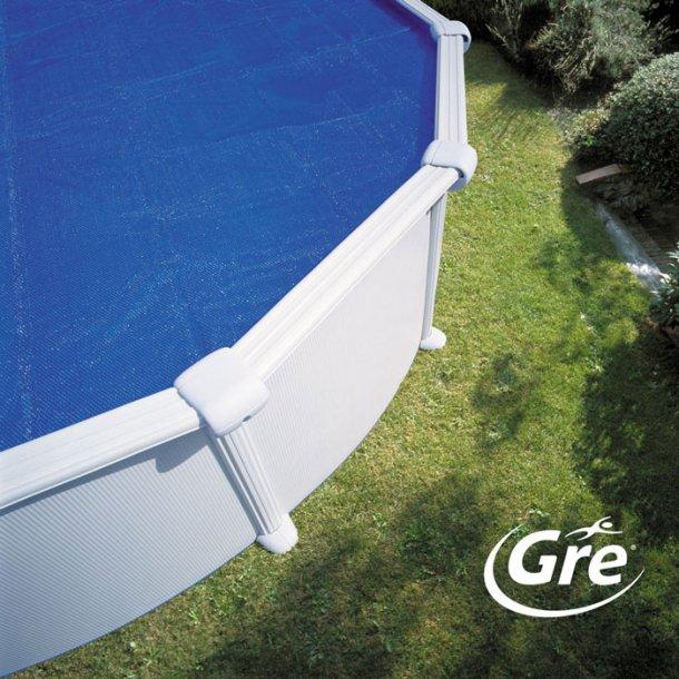 Isotermisk Overtræk Rund Pool Flere størrelser 180 mikron