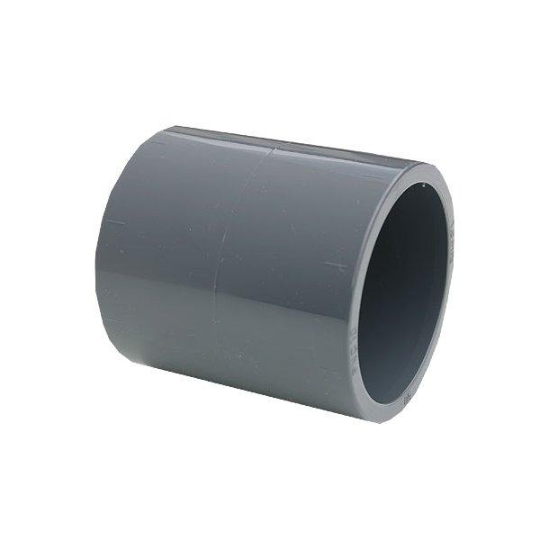 Pvc lime muffe 32-63 mm 4 Størrelser