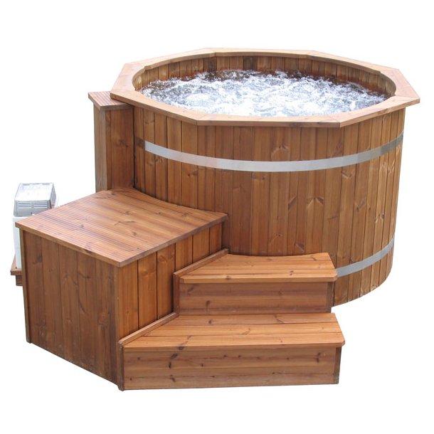 Boble massage system til vildmarksbad ø 150-160 cm (6 dyser)