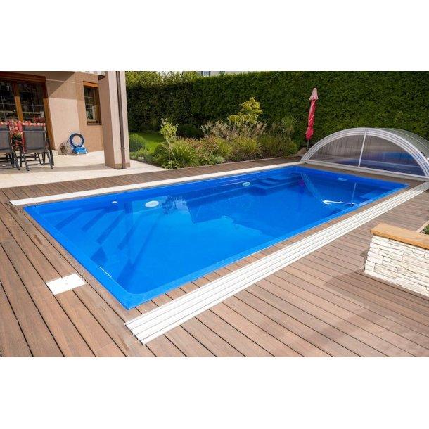 Rubin Keramisk Pool Pakke 8,2 x 3,54 x 1,5 m