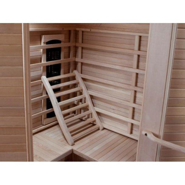 Ryglæn Hemlock til Sauna og Infrarød Sauna