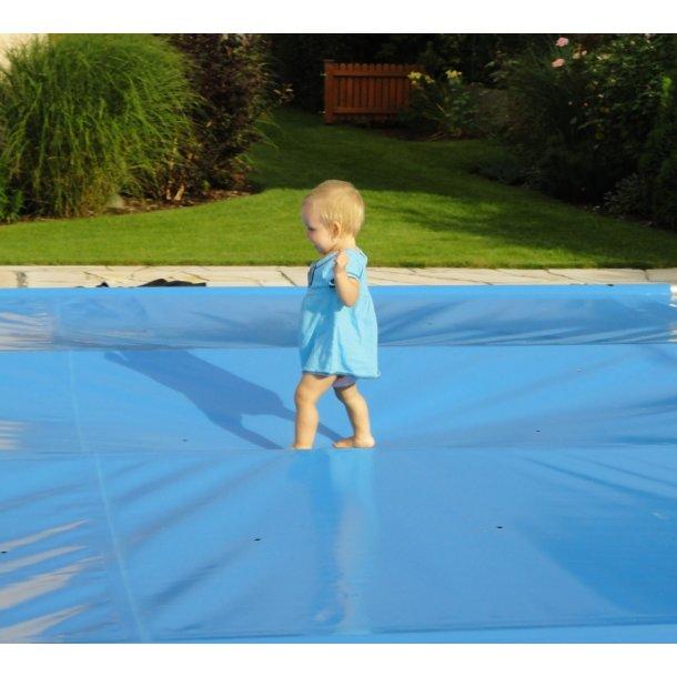 Sikkerhedscover Transparent til Pool efter Mål