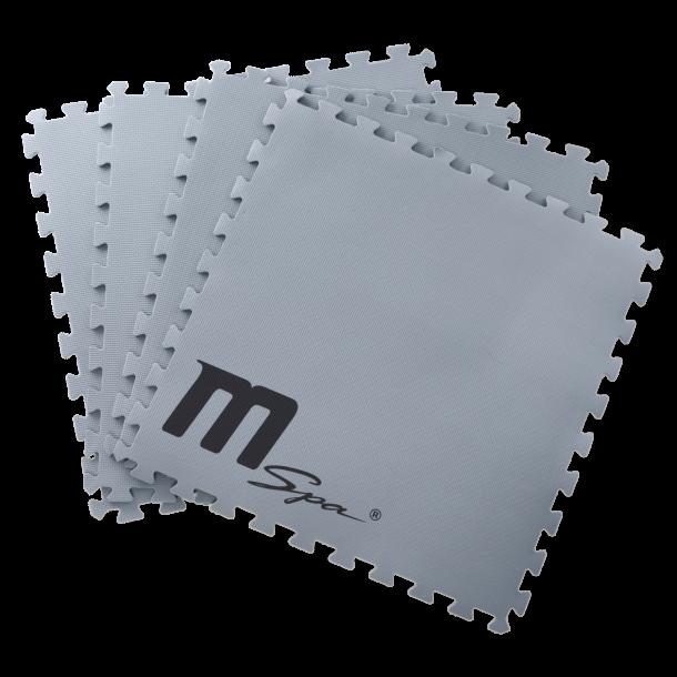 Isolerings Skumflise underlag til M-spa 9 stk 59x59 cm
