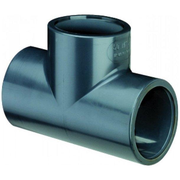 PVC T-stykke - reducering