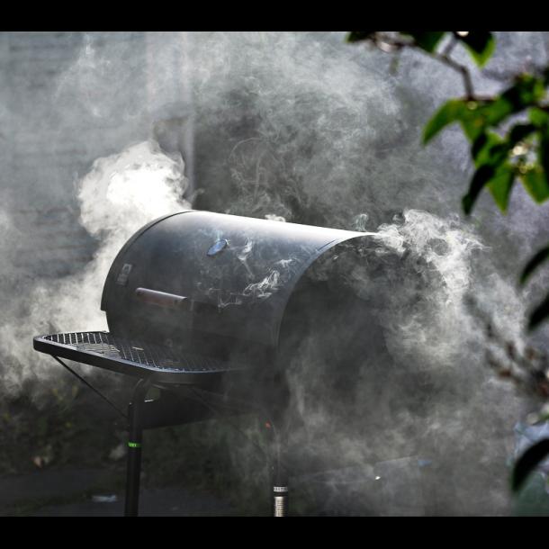 Grilltønde med låg til kul - Partygrill fra Landmann