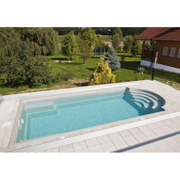 Topaz Keramisk Pool  Pakke 7,5 x 3,52 x 1,4 m